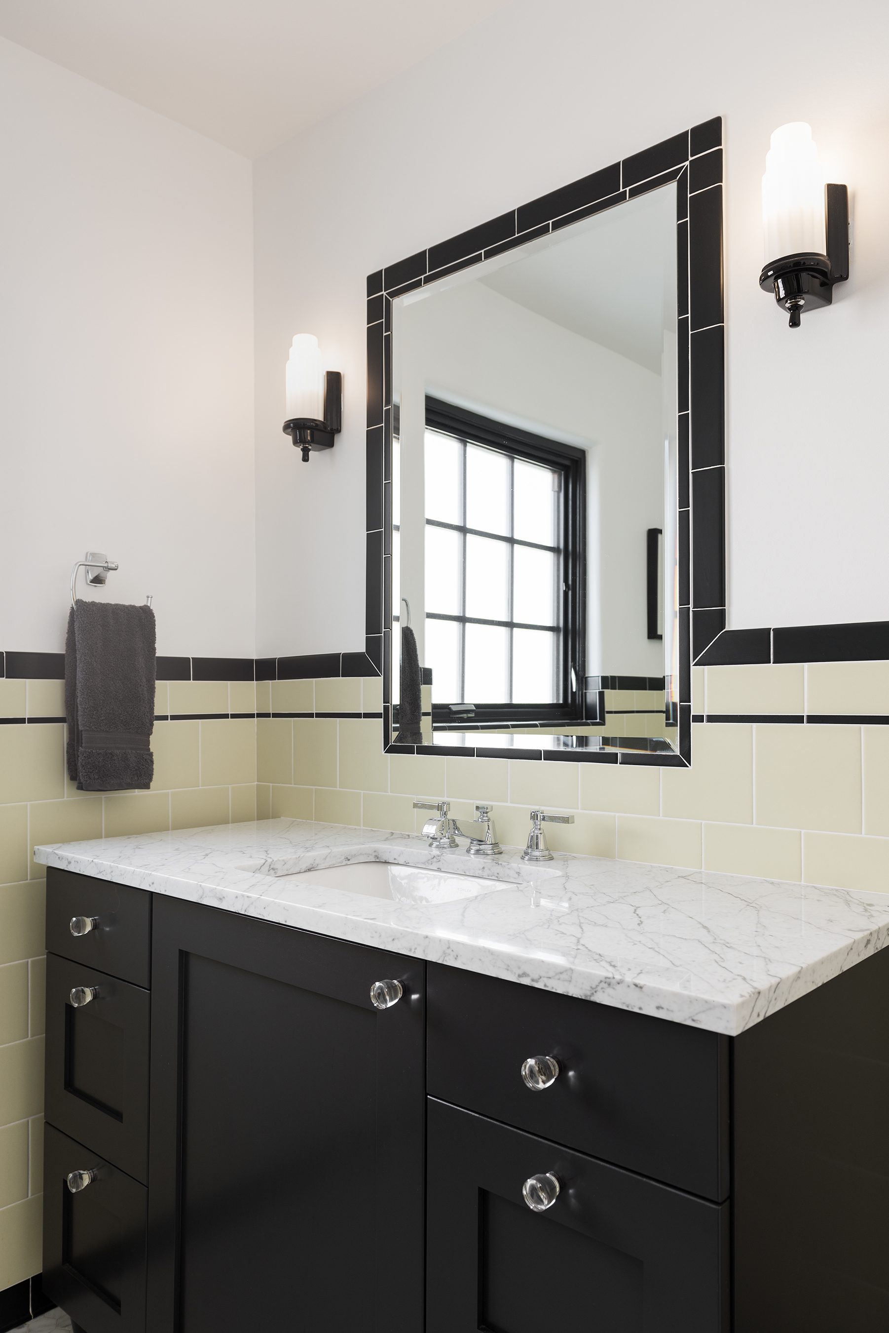 A New Historic Art Deco Guest Bathroom - enzy design ...